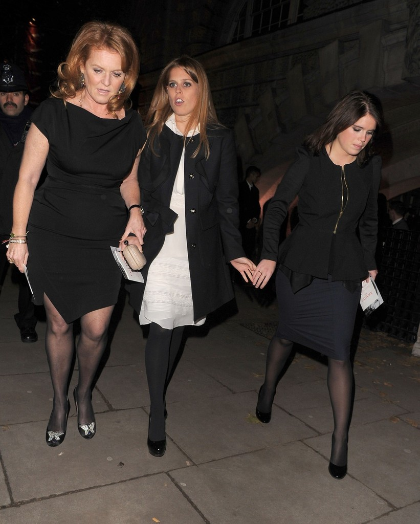 Sarah Ferguson, Princess Eugenie, Princess Beatrice