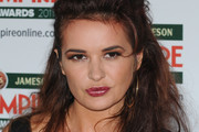 Kierston Wareing sparkles on the red carpet at the Jameson Empire Awards 2011 at the Grosvenor House Hotel in London.