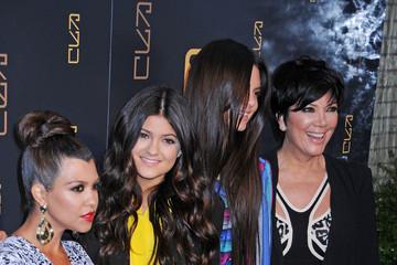Kris Jenner Kylie Jenner Scott Disick at the opening of his restaurant RYU in New York