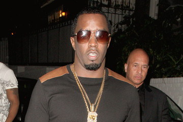 Sean Combs Diddy at Chateau Marmont