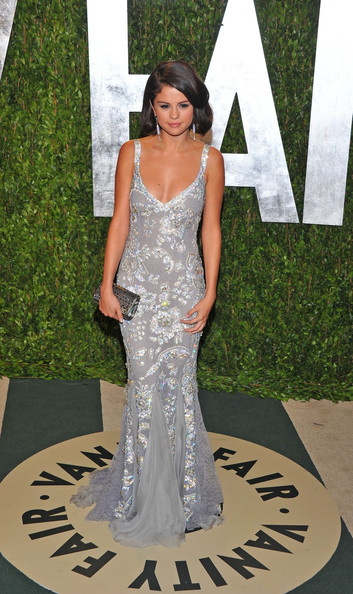 Selena Gomez - Celebs at the 2012 Vanity Fair Oscar Party
