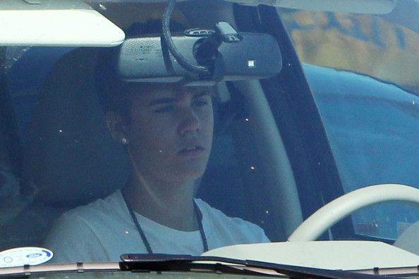 Selena Gomez Cute couple Justin Bieber and Selena Gomez, are seen driving around town in Los Angeles. It is reported that Gomez, 18, is said to have followed her boyfriend's footsteps by creating her own fragrance line.