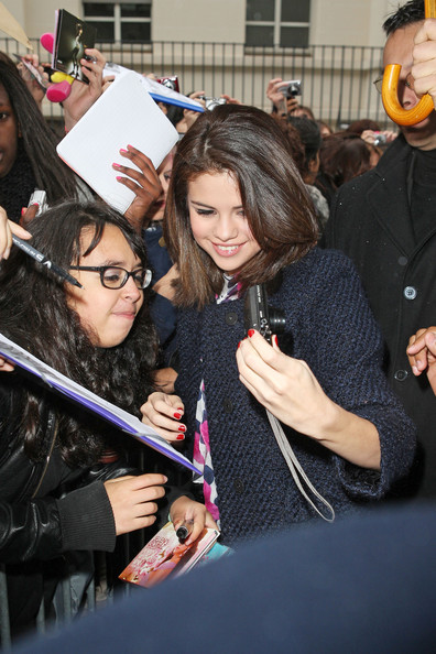 "Selena Gomez Disney darling Selena Gomez hits up a McDonald's in Paris following a promotional radio appearance. Gomez is currently on tour to promote her TV show ""Wizards of Waverly Place"" which begins its fourth season on November 12th which a second film release due sometime in 2011."