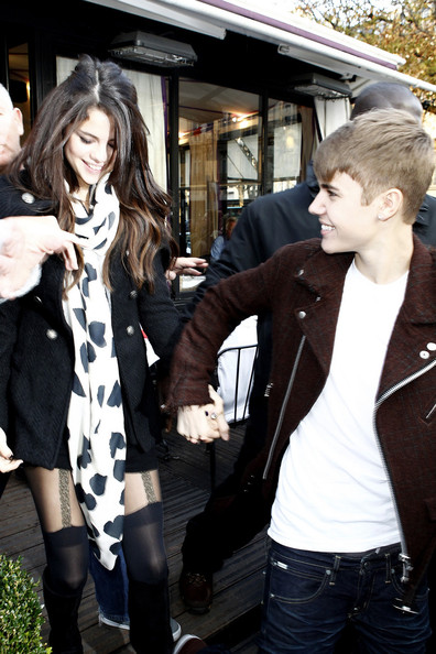 Selena Gomez Wednesday 9 2011. Superstar couple Selena Gomez and Justin Bieber spend have a romantic outing in Paris. Gomez just finished her hosting duties on MTV Europe where Bieber also gave a star performance.