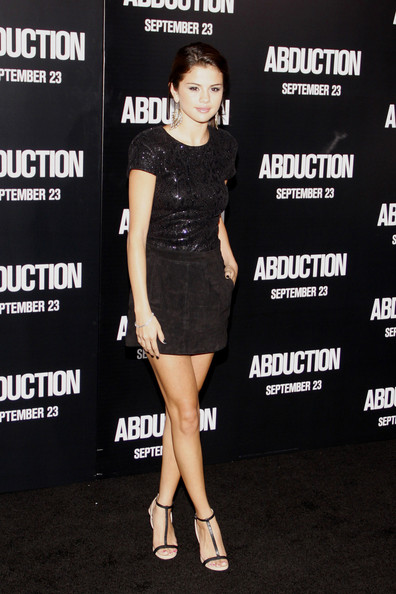 """Selena Gomez Thursday September 15, 2011.Selena Gomez joins a star-studded cast on the red carpet at the Los Angeles premiere of """"Abduction"""" held at the Grauman's Chinese Theater, Los Angeles."""