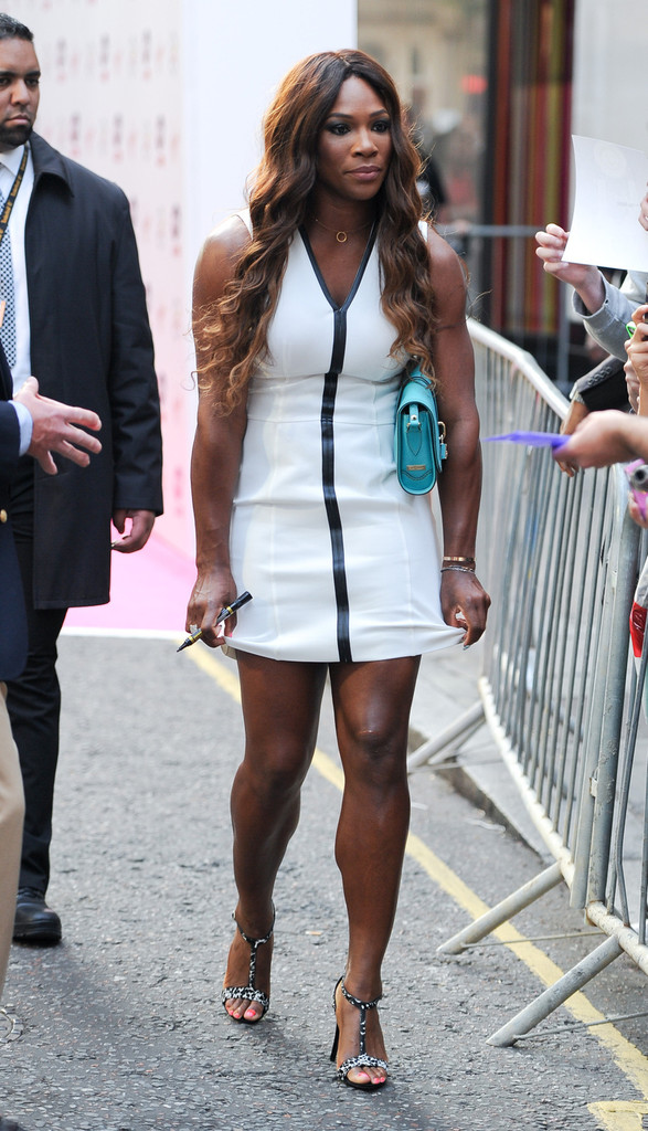 Serena+Williams+Arrivals+Pre+Wimbledon+P