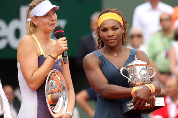 Serena Williams Maria Sharapova Serena Williams Wins the French Open