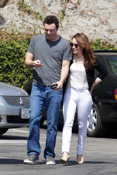 Seth MacFarlane and Emilia Clarke Out Together 2 - Zimbio