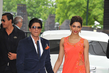 Shahrukh Khan Shahrukh Khan and Deepika Padukone at ITV Studios