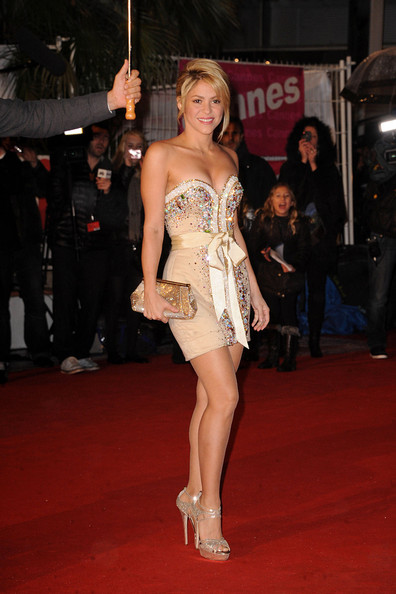 Shakira Photos Photos Celebs On The Red Carpet For The