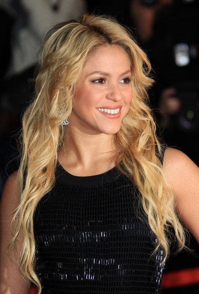 Shakira Colombian megastar Shakira hits the red carpet for the NRJ Awards in Cannes. Held at the Palais de Festivals, the awards celebrate the best French and International music from 2010.