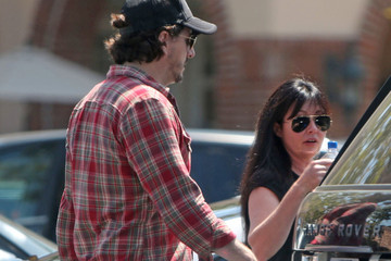 Shannen Doherty Shannen Doherty and Kurt Iswarienko Get Lunch in Malibu