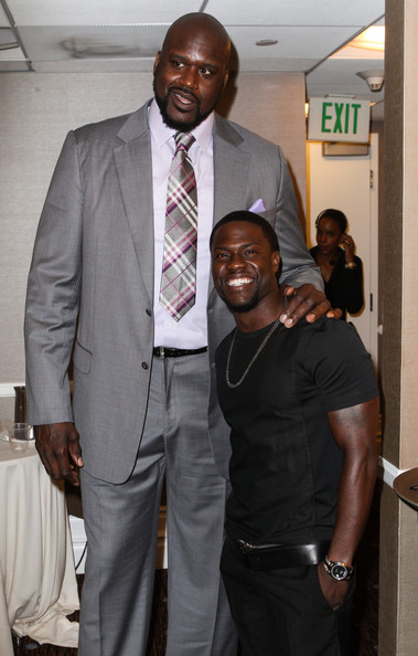 Shaquille O'Neal Kevin Hart Photos Photos - Stars at the ...