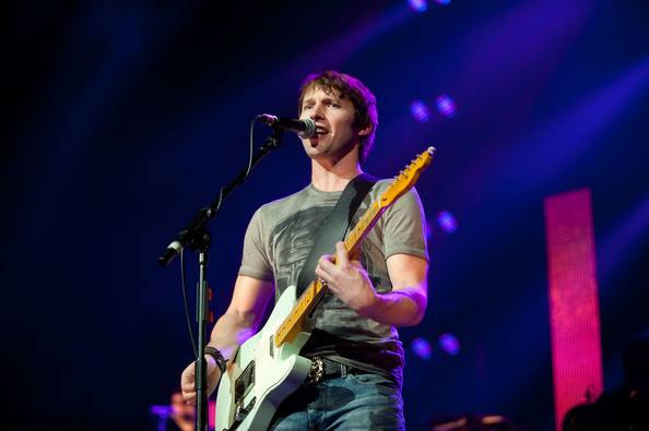 James Blunt Performs in Glasgow