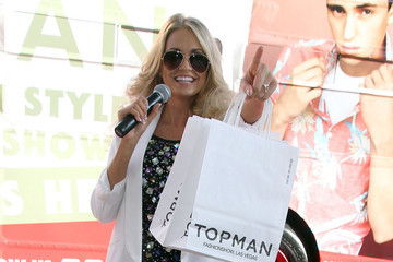Angel Porrino Phillip Green at a Store Opening in Vegas