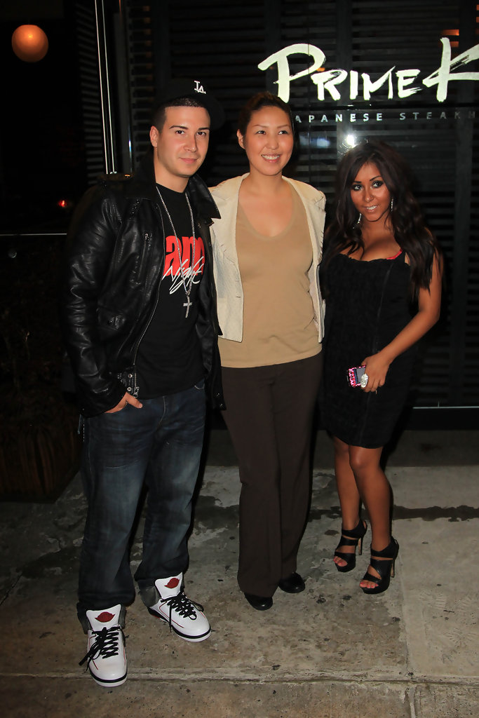 Vinny Guadagnino in Snooki and Vinny at Primeko Restaurant
