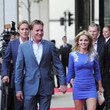 Henry Beckwith Red Carpet for McLaren London Launch