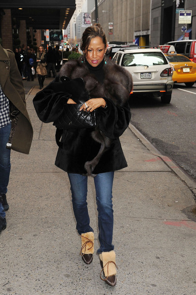 stacey dash son. Stacey Dash in NYC with Her