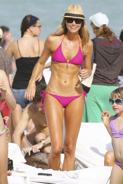 Stacy Keibler in South Beach []