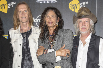 Steven Tyler Musicians at the 'Stone Music Festival'