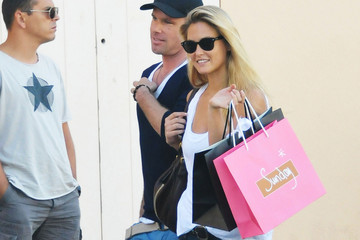 Bar Refaeli David Fisher Bar Refaeli and David Fisher in St. Tropez