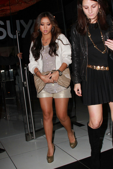 Brenda Song Disney teen sensation Brenda Song enjoys an evening out with friends at Katsuya in Hollywood. The star of