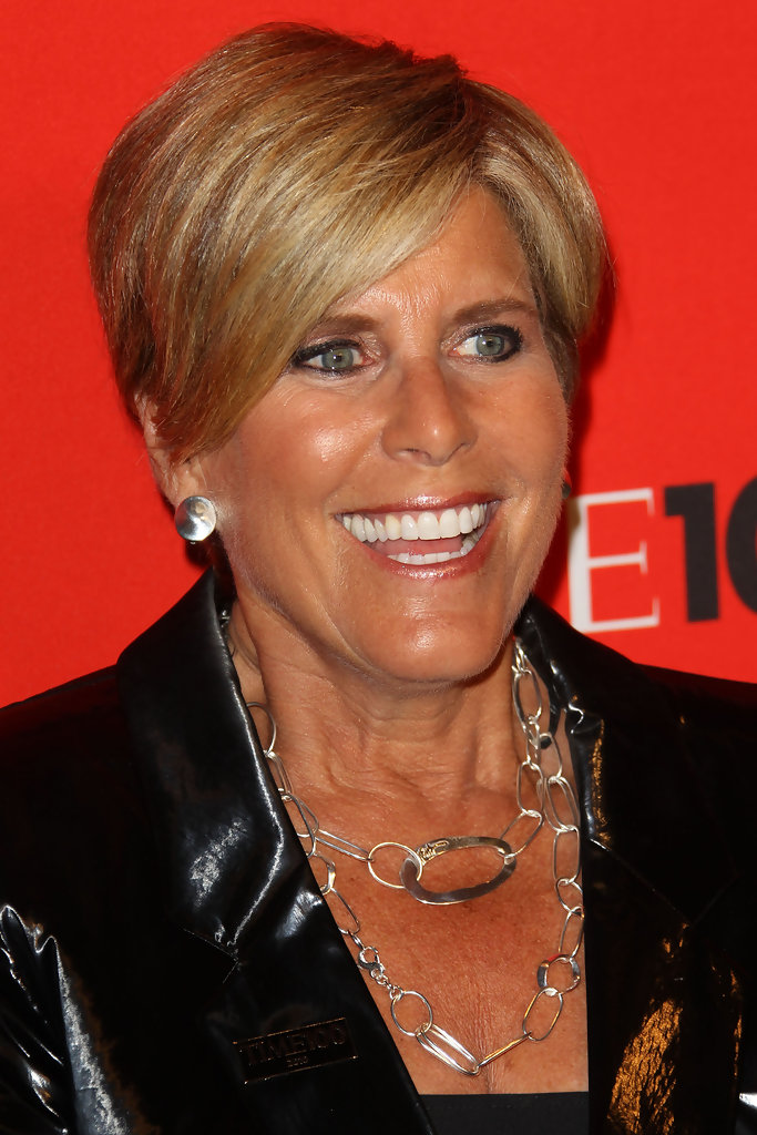 Suze Orman - Celebrities at the Time 100 Gala in New York
