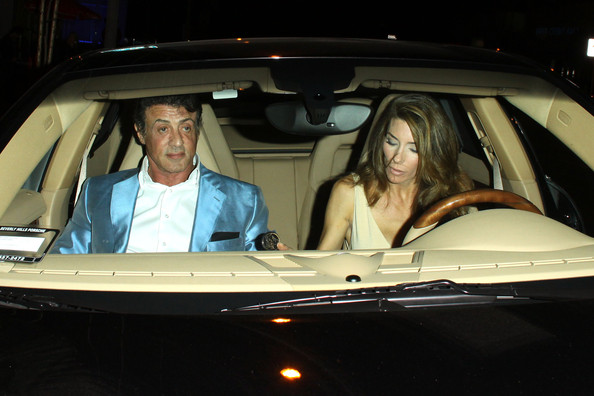 Sylvester Stallone and Jennifer Flavin - Sylvester Stallone at BOA ...
