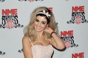 Marina Diamandis Celebs at the 2012 NME Awards in London