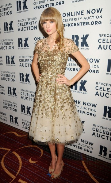 Taylor Swift:Dianna Agron seen arriving to the 2012!