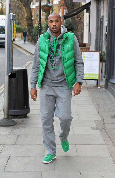 Thierry Henry Photos Photos Thierry Henry Out In London Zimbio