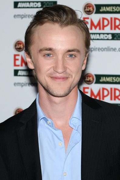 tom felton 2011. Tom Felton Tom Felton walks