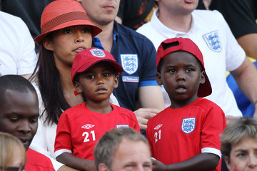 Chantelle Tagoe Toni Poole at the World Cup