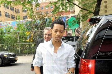 photo of Tyler James Williams  - car