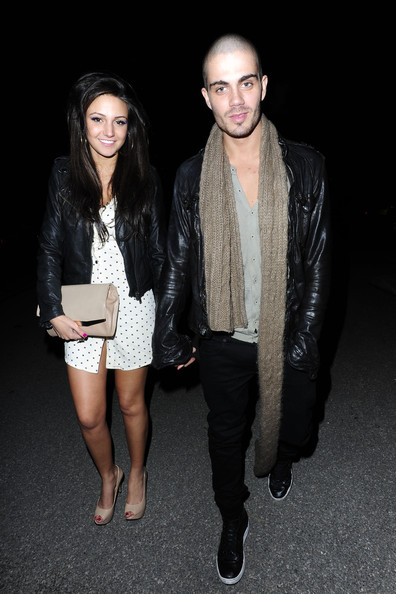 The Wanted HOTTEST NEW COUPLE IN SHOWBIZ!! Max George of The Wanted and actress Michelle Keegan enjoy a date night at Merah Club in London. The pair spent over 3 hours in the club and came out very loved up and affectionate with each other.