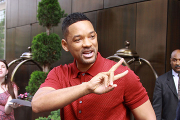 Will Smith Will Smith Visits 'Letterman' in NYC