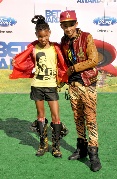 Willow Smith - Willow and Jaden Smith at the BET Awards
