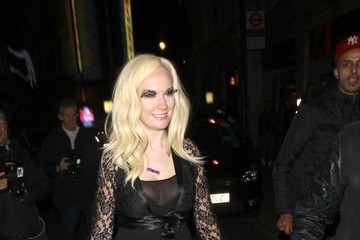 Kitty Brucknell Contestants Leaving the 'X Factor' Wrap Party