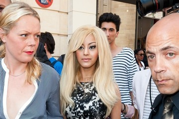 Zahia Dehar Zahia Dehar seen arriving to the Jean-Paul Gaultier Haute-Couture show at the Paris Fashion Week 2012 in Paris