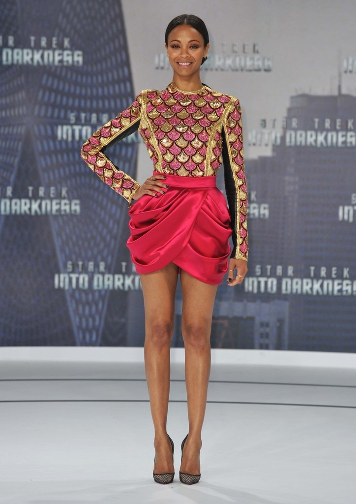 Zoe Saldana - Celebs at the 'Star Trek' Premiere in Berlin