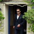 Wedding Guests Jude Law in the Cotswolds