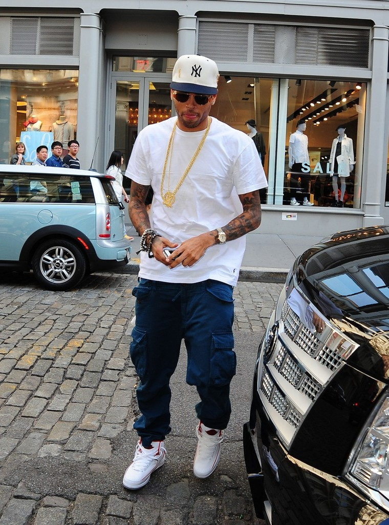 Chris Brown Shoe Collection Instagram