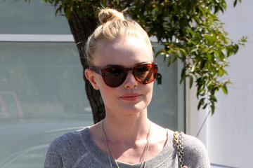 Byron & Tracey Salon A very thin Kate Bosworth leaves Byron & Tracey salon in Beverly Hills