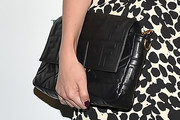 Dianna Agron Leather Clutch