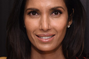 Padma Lakshmi Long Side Part