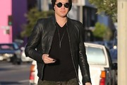Adam Lambert Leather Jacket