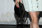Maisie Williams Leather Shoulder Bag