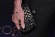 Andie MacDowell Leather Clutch