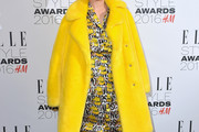 Noomi Rapace Fur Coat