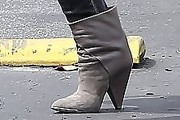 Hilary Duff Ankle boots